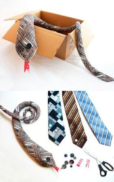 Recycled tie