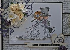 Kerttu Kaardipesa: Wedding card with lotv image