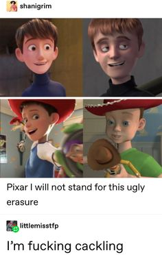 Pixar I will not stand for this ugly erasure - iFunny :) Tumblr Funny, Funny Memes, Hilarious, Disney And Dreamworks, Disney Pixar, Disney Memes, Princesas Disney, Disney Love, Funny Posts