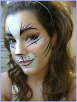 deviantART: More Like cheetah makeup 2 by ~blademckay