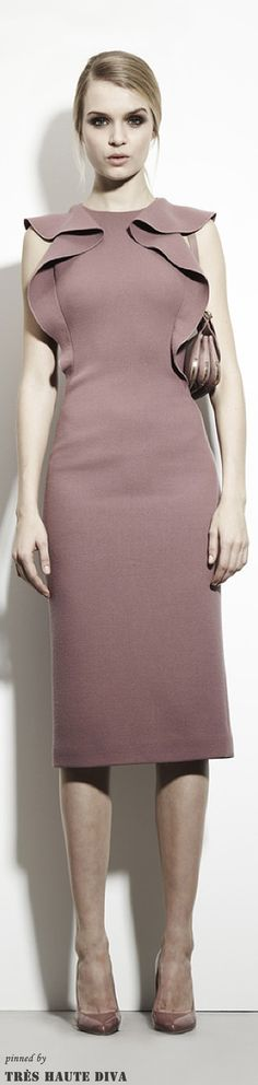 Bottega Veneta Ready To Wear Pre Fall 2013 Pre Collections Fashion Week, Love Fashion, High Fashion, Fashion Show, Fashion Design, Runway Fashion, Review Fashion, Pretty Dresses, Dresses For Work