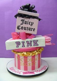 birthday cake by kristine