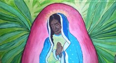 Ethiopian Madonna by Borninri on Etsy