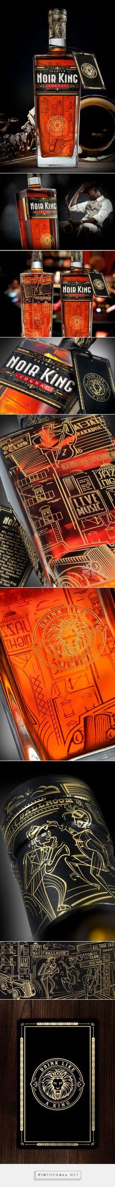 Noir King Cognac - The Harlem Renaissance - Packaging of the World - Creative Package Design Gallery - http://www.packagingoftheworld.com/2017/06/noir-king-cognac-harlem-renaissance.html - created via https://pinthemall.net