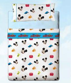 Juego sábanas Disney Mickey colors by gamanatura