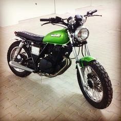 "motomood: ""Suzuki GN250 scrambler """
