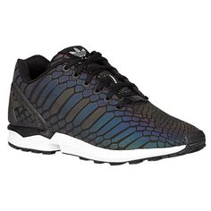 Adidas ZX Flux XENO Running Shoes go from black to iridescent rainbow in brigh - Adidas Zx Flux Xeno - Ideas of Adidas Zx Flux Xeno - Adidas ZX Flux XENO Running Shoes go from black to iridescent rainbow in bright light Adidas Zx Flux, Blue Shoes, Men's Shoes, Adidas Originals Zx Flux, Foot Locker, Running Shoes, Vans, Sneakers Nike, Footwear