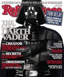Portada Rolling Stone - Darth Vader