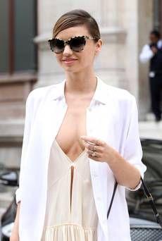 Miranda Kerr Paris Fashion Week