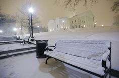 Snow storm in Richmond, Virginia | Snow falls overnight at the State Capitol in Richmond, Va. AP/Steve ...