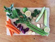 Citrus n Veg Juice Celery, Asparagus, Juice, Vegetables, Recipes, Food, Studs, Recipies, Essen