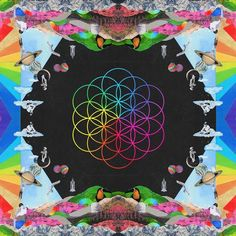 Coldplay - A Head Full Of Dreams  Limited Edition on Pink & Blue Vinyl   Poster   Download Code LP