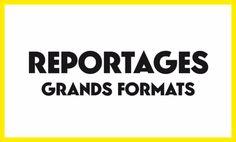 """Carton 24h01 """"Reportages Grands Formats"""""""