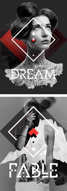 New Ideas Fashion Collage Poster Illustrations Graphisches Design, Grid Design, Layout Design, Creative Design, Design Ideas, Design Trends, Logo Design, Design Graphique, Art Graphique