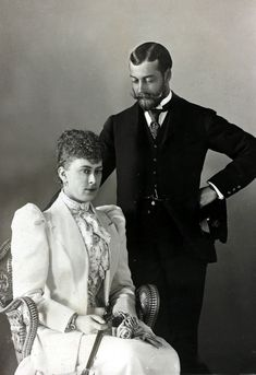 Poster Print-Prince George, Duke of York & Princess Mary of Teck Poster sized print made in the USA Duchess Of York, Duke Of York, Duke And Duchess, Queen Mary, Princess Mary, Queen Elizabeth Ii, George Duke, King George, Windsor