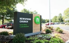 New Logo and Identity for NewSpring Church done In-house
