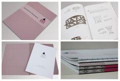 Diseño de nuevo catálogo 2012/2013 para AROA Proyecto XXI de accesorios de pasamanería. Octubre 2012.