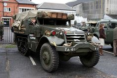 Brooklands Museum Military Vehicles Day by growler2ndrow, via Flickr