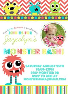 Little monster Birthday Bash
