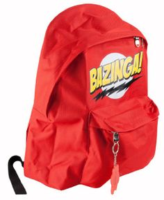 Big Bang Theory Bazinga Backpack