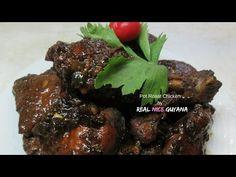 Pot Roast Chicken, step by step Video Recipe II Real Nice Guyana [ HD ] Jamaica Food, Jamaica Recipes, Duck Curry, Guyanese Recipes, Roast Chicken Recipes, Curry Dishes, Tasty, Yummy Food, Stuffed Whole Chicken