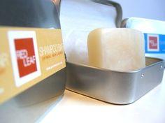 Solid Shampoo Bar With Metal Case by RedLeafBathandBody on Etsy, $9.99