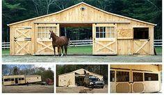 Portable Horse Barn
