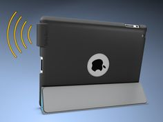 Safe & Sound - Sound Amplifying Case For iPad 2 & 3 by John Swanson, via Kickstarter.  Get it by Sept. 10.