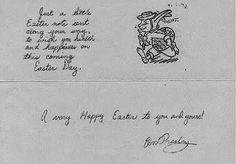 Elvis loved the Holidays! After Lisa Marie was born, Elvis would arrange for an egg hunt on Easter Sunday. The night before, Elvis and the… Elvis Presley, Elvis Memorabilia, Easter Wishes, Easter Card, Retro Gifts, My Destiny, Old Soul, Vintage Easter, Graceland
