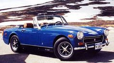 1st car I ever owned. 1972 MG Midget. I bought it at 15 1/2 with every cent I had in the bank.