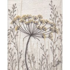 Fennel on Linen I