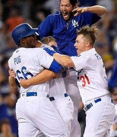 Clayton Kershaw after Dodgers win