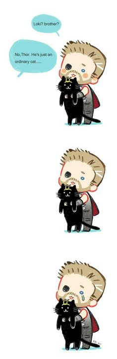 Brother? || Thor & Lokitty ? || Avengers Infinity War || Cr: Ariesr