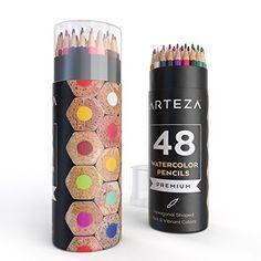 Watercolor Pencils 48-colored Water-soluble (Wooden, Pre-... https://www.amazon.com/dp/B01E4JA0AC/ref=cm_sw_r_pi_dp_ZTeGxbYC5470G