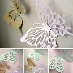 Ideen Für Wandgestaltung Lovely Ideen Für Wandgestaltung Mit Schmetterlingen Aus Papier
