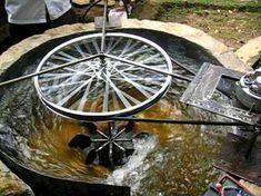 ZOTLÖTERER - worldwide first Gravitation Water Vortex Power Plant - YouTube