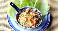 Tofu and Vermicelli San Choy Bow