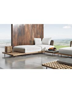Minotti Quadrado sofa outdoor new salon mobile Milano
