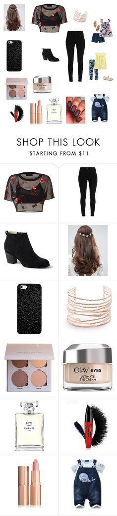 """""""Park and ice cream"""" by bellzellz ❤ liked on Polyvore featuring Lands' End, ASOS, Alexis Bittar, Olay and Chanel"""