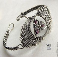 'Крылья ангела' / Bracelet  'Angel wings' by Nataly