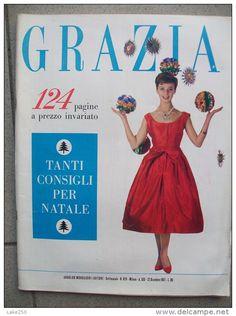 GRAZIA rivista di moda italiana 22/12/1957