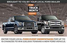 Ford Motor Company - Win a 2017 Fusion, Focus, Escape, Explorer or F-150 - http://sweepstakesden.com/ford-motor-company-win-a-2017-fusion-focus-escape-explorer-or-f-150/