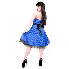 H&R London Kaitlyn Blue Halter