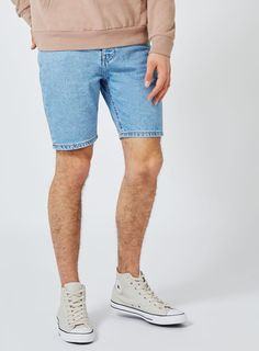 Topman's must-have shorts will keep you cool while things heat up this season. Shop our range of casual and smart shorts with free delivery and returns. Smart Shorts, Light Blue, Denim Shorts, Slim, Casual, Clothes, Fashion, Outfits, Moda