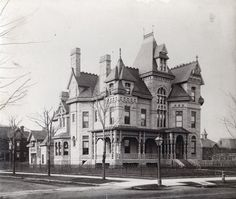 Wells W. Leggett home, corner of Woodward Avenue and old Davenport Street. Submission by Brian T.