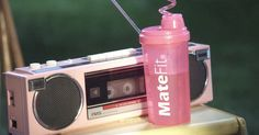 MateFit water bottle in PRETTY GIRLS by Britney Spears and Iggy Azalea (2015) @matefit