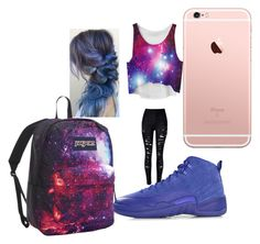 """""""school"""" by pettyallthe on Polyvore featuring NIKE and JanSport"""