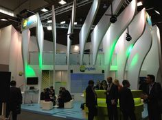 Comptel Exhibition Stand Mobile World Congress 2013