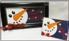 Snowman Frame and Card