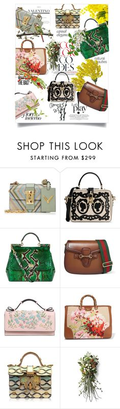 """Spring 2016 beauties l"" by theitalianglam ❤ liked on Polyvore featuring Valentino, Mimosa, Dolce&Gabbana, Gucci, RED Valentino, Giancarlo Petriglia, Frontgate, valentino, bags and gucci"